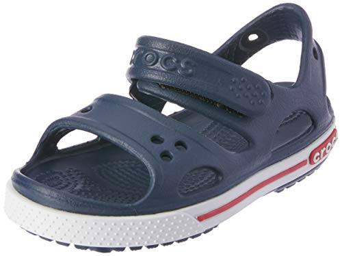 Crocs Crocband Ii Sandal Ps K, Unisex-Kinder Sandalen, Blau (Navy), 22-23 EU (6 UK)