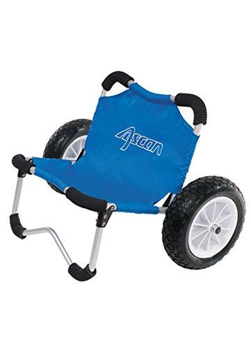 ASCAN SUP-Buggy – ideal für den Transport von SUP-Board, Kanu, Kajak, Surfbrett Board am Strand und Ufer -...