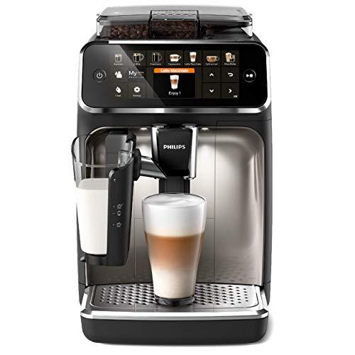 Philips 5400 Serie EP5447/90 Kaffeevollautomat, 12 Kaffeespezialitäten (LatteGo Milchsystem)...
