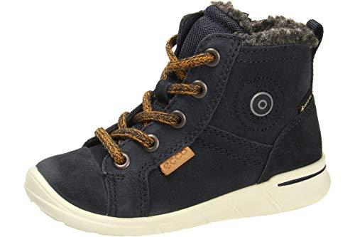 ECCO Baby Jungen FIRST Sneaker Klassische Stiefel Mid-cut Boot, Blau (Nght Sky 1303), 22 EU