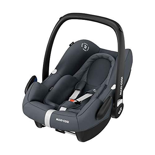 Maxi-Cosi 8555750110 Rock Babyschale, sicherer i-Size Baby-Kindersitz, Gruppe 0+ (0-13 kg), nutzbar ab der...