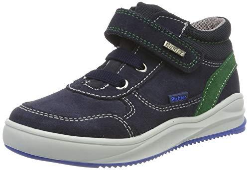 Richter Kinderschuhe Jungen Harry Hohe Sneaker, Blau (Atlantic/Turtle 7201), 27 EU