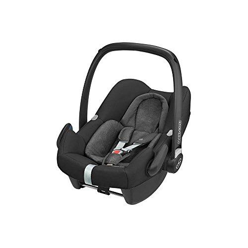 Maxi-Cosi Rock Babyschale, sicherer i-Size Babyautositz, Gruppe 0+ (0-13 kg), nutzbar ab der Geburt bis 12...