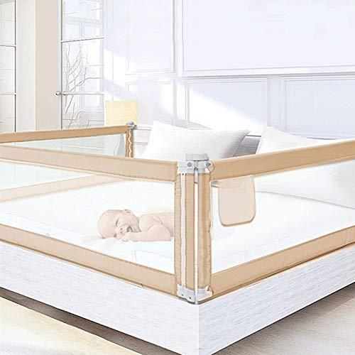 DHOUTDOORS 200×80cm Bettgitter Kinderbettgitter zum Vertikalen Heben Sicherheitsschutz Bettgitter zum Schutz...