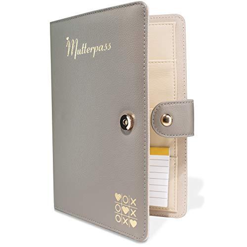 TWIVEE - Mutterpasshülle - Organizer mit Magnetverschluss - Mutter-Kind-Pass - Deutscher Mutterpass - inkl....