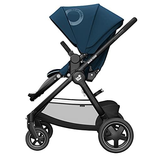Maxi-Cosi Adorra² Kinderwagen, komfortabler, zusammenklappbarer Kombi-Kinderwagen mit Einkaufskorb und...