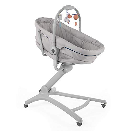 Chicco Baby Hug 4 In 1 Stubenwagen Liegesessel (von 0-6 Monate) Hochstuhl erster Stuhl (von 6-36 Monate)...