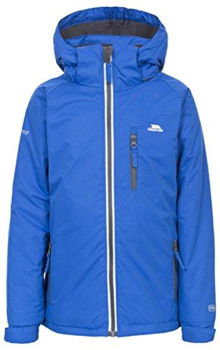 Trespass Cornell II, Electric Blue, 3/4, Warme Gepolsterte Wasserdichte Jacke mit abnehmbarer Kapuze für...