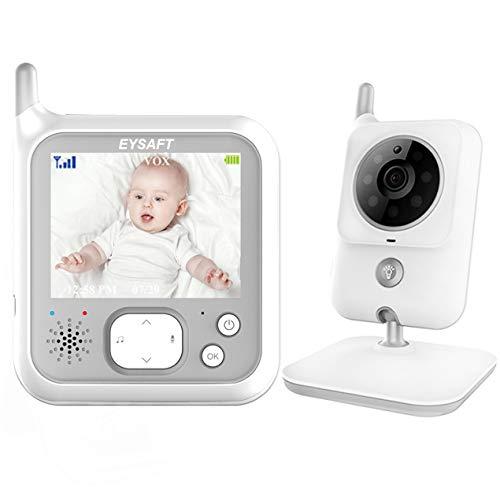 Babyphone mit Kamera Video Baby Monitor 3.2 Zoll Babyfon mit Talk Back und...
