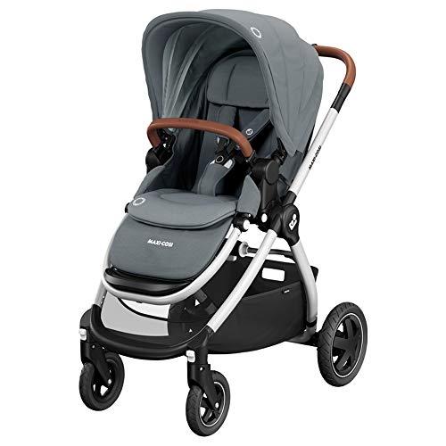 Maxi-Cosi Adorra Kinderwagen, komfortabler, zusammenklappbarer Kombi-Kinderwagen mit Einkaufskorb und mehreren...