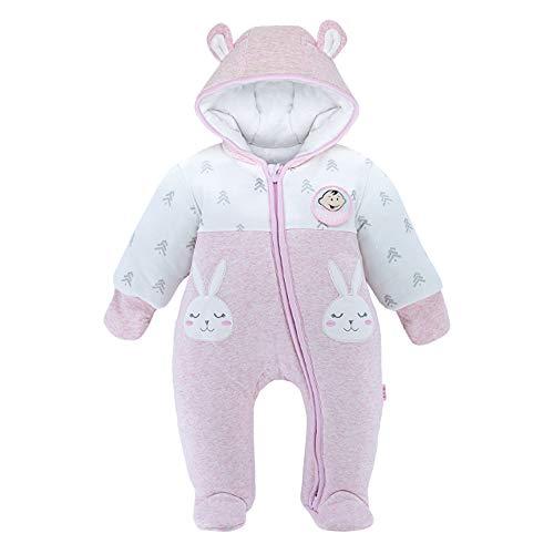 DDY Baby Schneeanzug mit Kapuze Warm Strampler Overall Winter Onesies 3-6 Monate Outfits Oberbekleidung für...