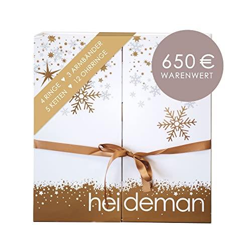 Heideman Adventskalender 2021 Frauen - Schmuck - Limited Edition - Advent Kalender Damen - Weihnachtskalender...