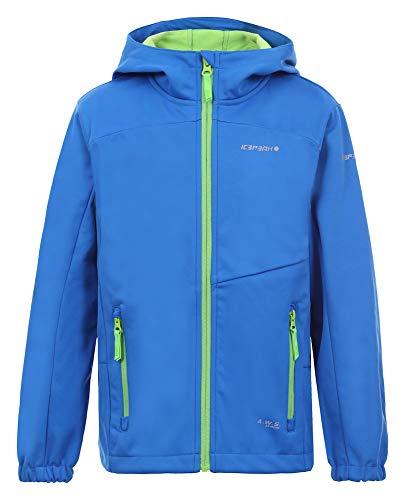 Icepeak Jungen Laurens JR Softshell Jacke, blau, 176