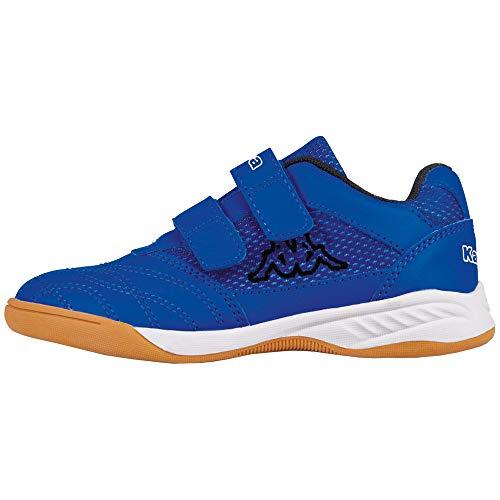 Kappa Unisex-Kinder Kickoff Multisport Indoor Schuhe, Blau (Blue/Black 6011), 31