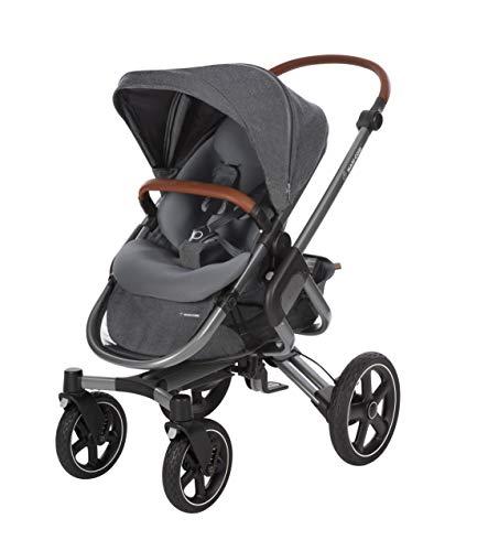 Maxi-Cosi Nova 4-Rad Kombi-Kinderwagen, automatisch klappbar, nutzbar ab der Geburt mit Babyschale oder...