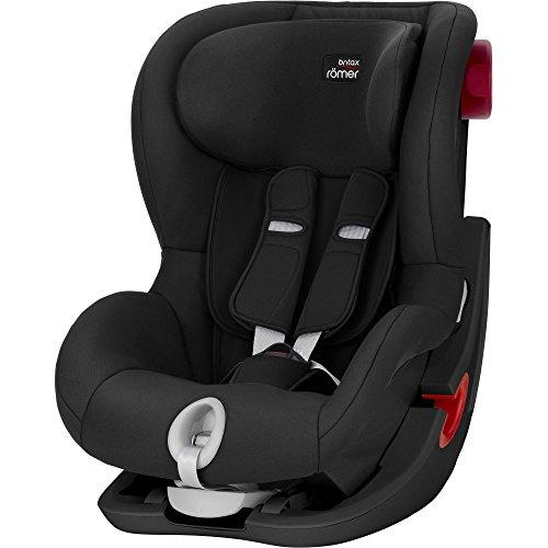 Britax Römer Kindersitz 9 Monate - 4 Jahre I 9 - 18 kg I KING II Autositz Gruppe 1 I Cosmos Black