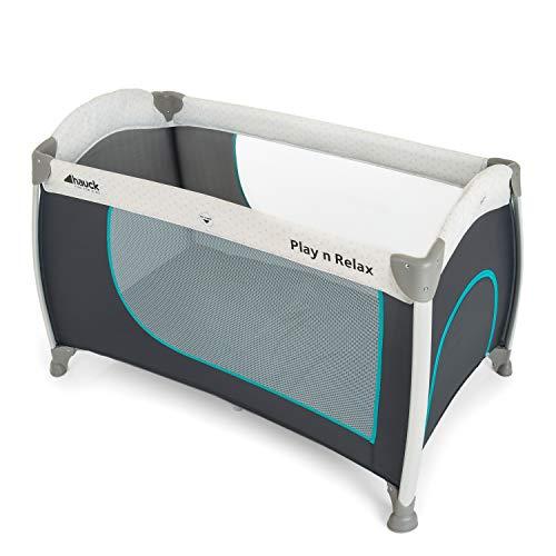 Hauck Reisebett Play N Relax / für Babys und Kinder ab Geburt bis 15 kg / 120 x 66 cm / Leicht / Kompakt...