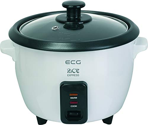 ECG RZ11 Reiskocher 1 L für alle Reisarten 400W Warmhaltefunktion