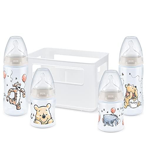 NUK First Choice+ Babyflaschen Starter Set   0–6Monate   4Flaschen mit Temperature Control Anzeige &...