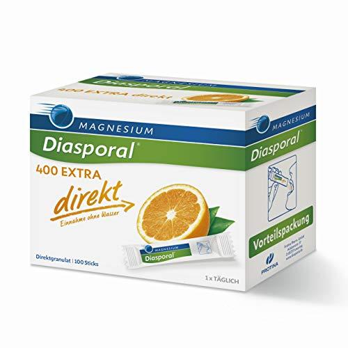 Magnesium-Diasporal 400 EXTRA direkt: Das Direktgranulat der EXTRA-KLASSE mit 400 mg Magnesium pro Stick, 100...