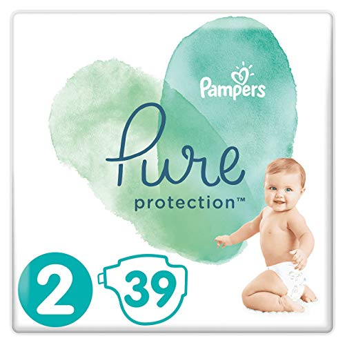 Pampers 81685103 Pure Protection windeln, weiß