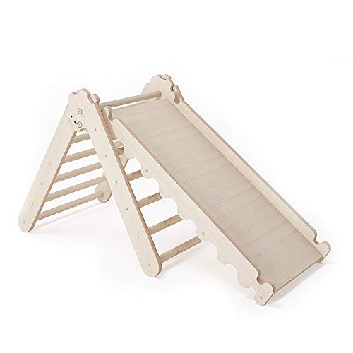 MAMOI Pikler Dreieck v.2 für Kinder Modernes | Klettergerüst Indoor Kinder minimalistisches Design |...