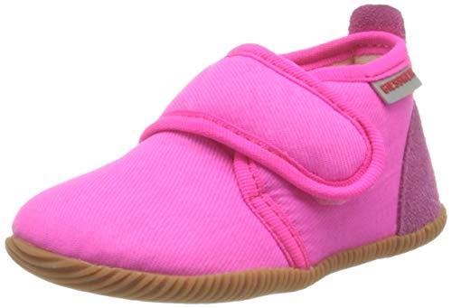 GIESSWEIN Baby-Mädchen Strass-Slim Fit Lauflernschuh, Pink, 22 EU