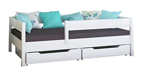 WNM Group Kinderbett, Miki Einzelbett mit Schubladen und Lattenrost