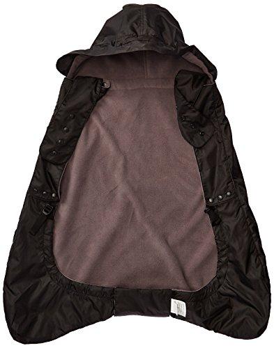 Ergobaby Wintercover und Regencover, isolierter Regenschutz für Babytragen mit Fleece-Innenfutter,...
