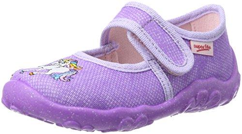 Superfit Mädchen BONNY-800282 Niedrige Hausschuhe, Violett (Lila 76), 28 EU