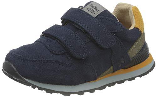 Richter Kinderschuhe Junior 7628-8111 Sneaker, 7201atlantic/curry/clay, 25 EU