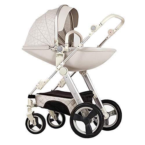 Pushchair 3-in-1-Babyby-Kinderwagen für Hochleistungs-Eierschale zum Sitzen und Liegen zweiseitiger...