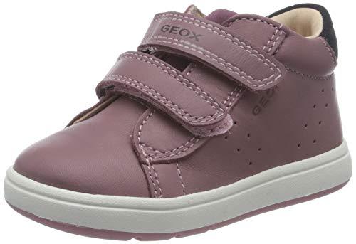Geox Baby-Mädchen B BIGLIA Girl C First Walker Shoe, Rosa (Rose Smoke/Prune), 24 EU
