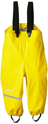 CareTec Kinder Regenlatzhose, wind- und wasserdicht (verschiedene Farben), Gelb (Yellow 324), 104