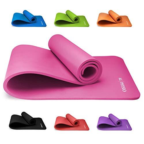 KG Physio Premium Yogamatte, Sportmatte, Gymnastikmatte, Fitnessmatte, Trainingsmatte oder zuhause mit...