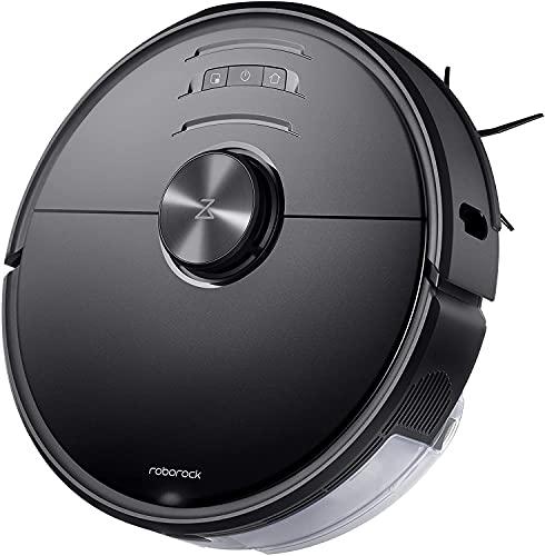 Roborock S6 MaxV Saug- und Wischroboter mit KI-Dual-Kamera (2500Pa Saugleistung, 180min Akkulaufzeit, 460ml...