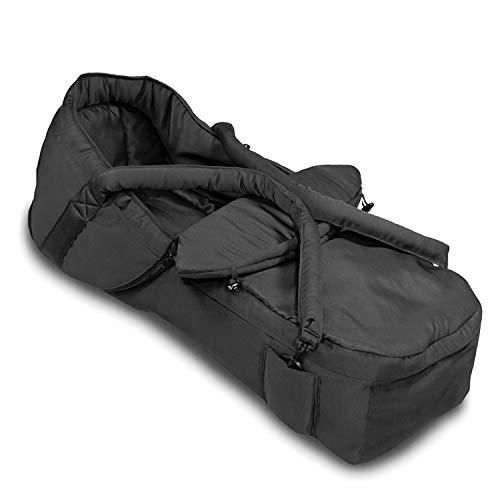 Hauck 2 in 1 Tragetasche verwandelbar in Fußsack, Kompatibel mit 5-Punkt-Gurt, pflegeleichtes Material,...