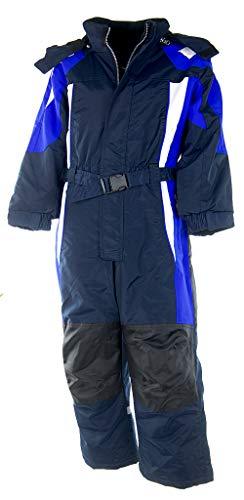 Fortuna F. Schneeanzug Overall Winteranzug Skianzug SKIOVERALL Winter Schnee Kinder 116-170 M31 (128,...