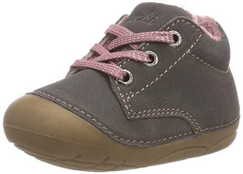 Lurchi Baby Mädchen Flori Sneaker, Grau (Grey Rose 25), 23 EU