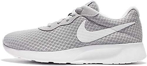 Nike Damen WMNS Tanjun Sneaker, Wolfgrau Weiß, 41 EU