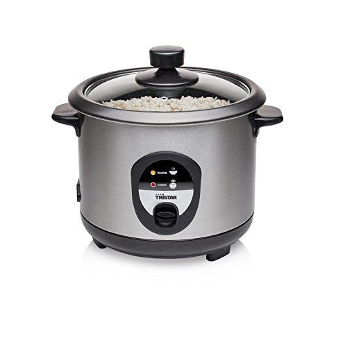 Tristar RK-6126 Reiskocher, 1L, Reis für bis zu 5 Personen ohne Anbrennen, Mit Warmhaltefunktion, 400W,...