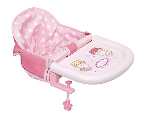Zapf Creation 701126 Baby Annabell Tischsitz, leicht anzubringen, Puppenzubehör 43 cm