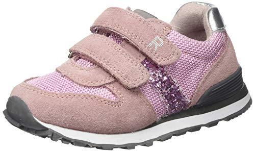 Richter Kinderschuhe Jungen Mädchen Junior Sneaker, Pink (Powder/Candy/Silver 1101), 26 EU