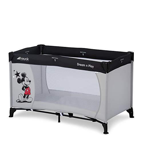 Hauck Disney Reisebett Dream N Play / für Babys und Kinder ab Geburt bis 15 kg / 120 x 60 cm / Leicht /...
