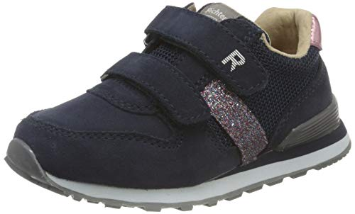Richter Kinderschuhe Junior 7627-8171 Sneaker, 7201atlantic/eggpla/cand, 25 EU