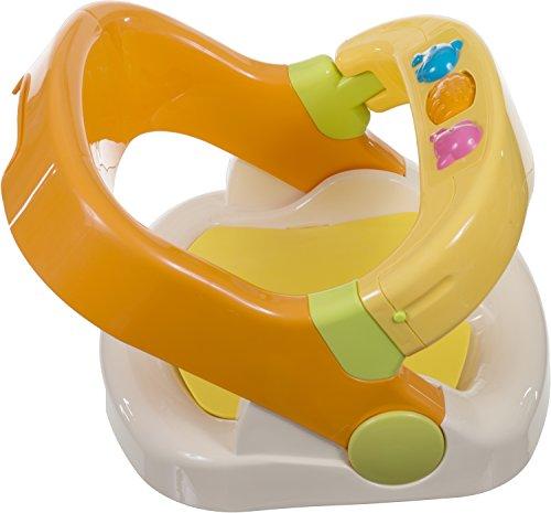Bieco Badewannensitz mit aufklappbarem Ring ab 6 monaten | Badesitz Baby | Badewannensitz Baby Wanne |...