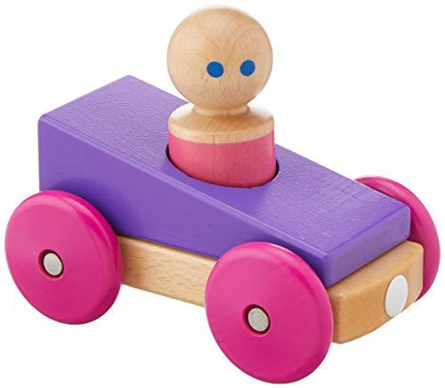 Tegu MRB-PRP-801T 805 Holzauto, Lila, Pink, Holzfarben