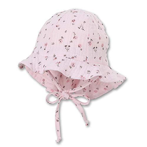 Sterntaler Baby-Mädchen Flapper 1402121 Hut, rosa, 47