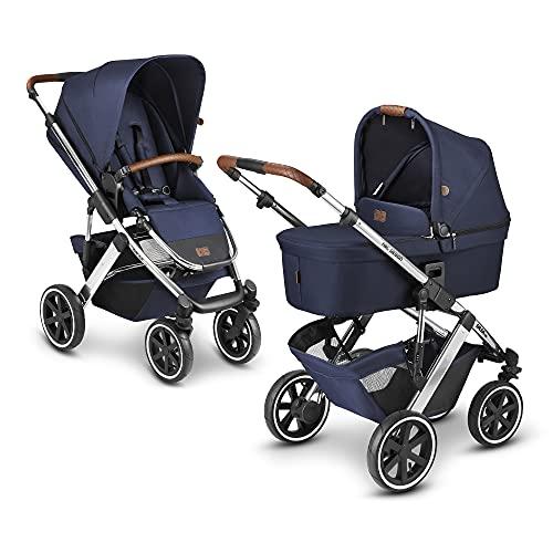 ABC Design 2 in 1 Kinderwagen Salsa 4 Air Diamond Edition – Kombikinderwagen für Neugeborene & Babys –...