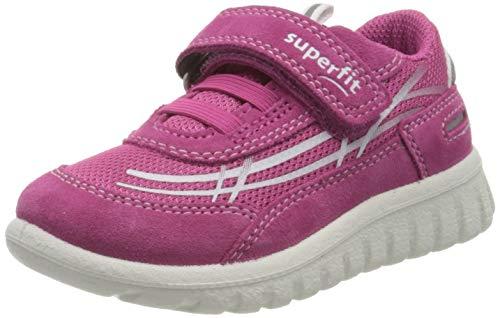 Superfit Mädchen SPORT7 Mini Sneaker, Pink (Rosa 55), 27 EU